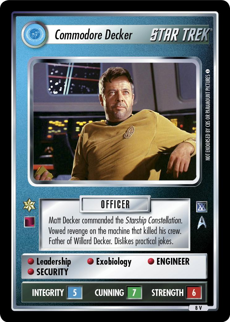 Commodore Decker