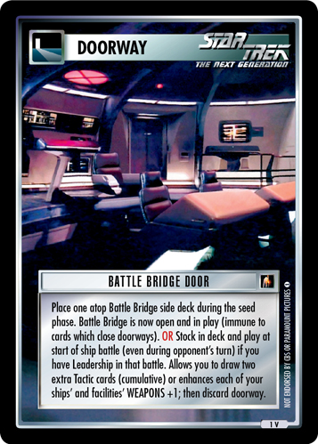 Battle Bridge Door