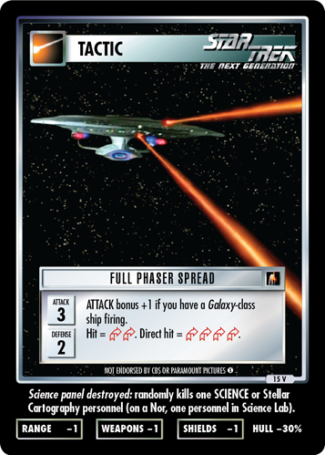 Full Phaser Spread