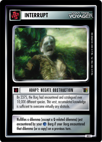 Adapt: Negate Obstruction