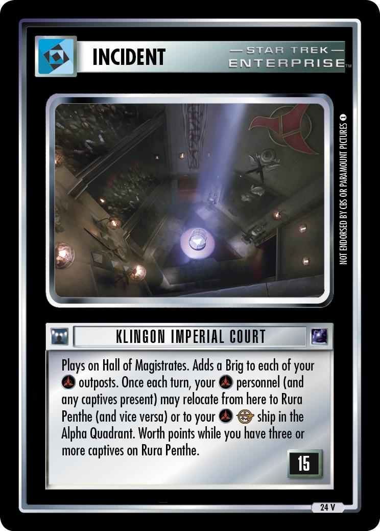 Klingon Imperial Court