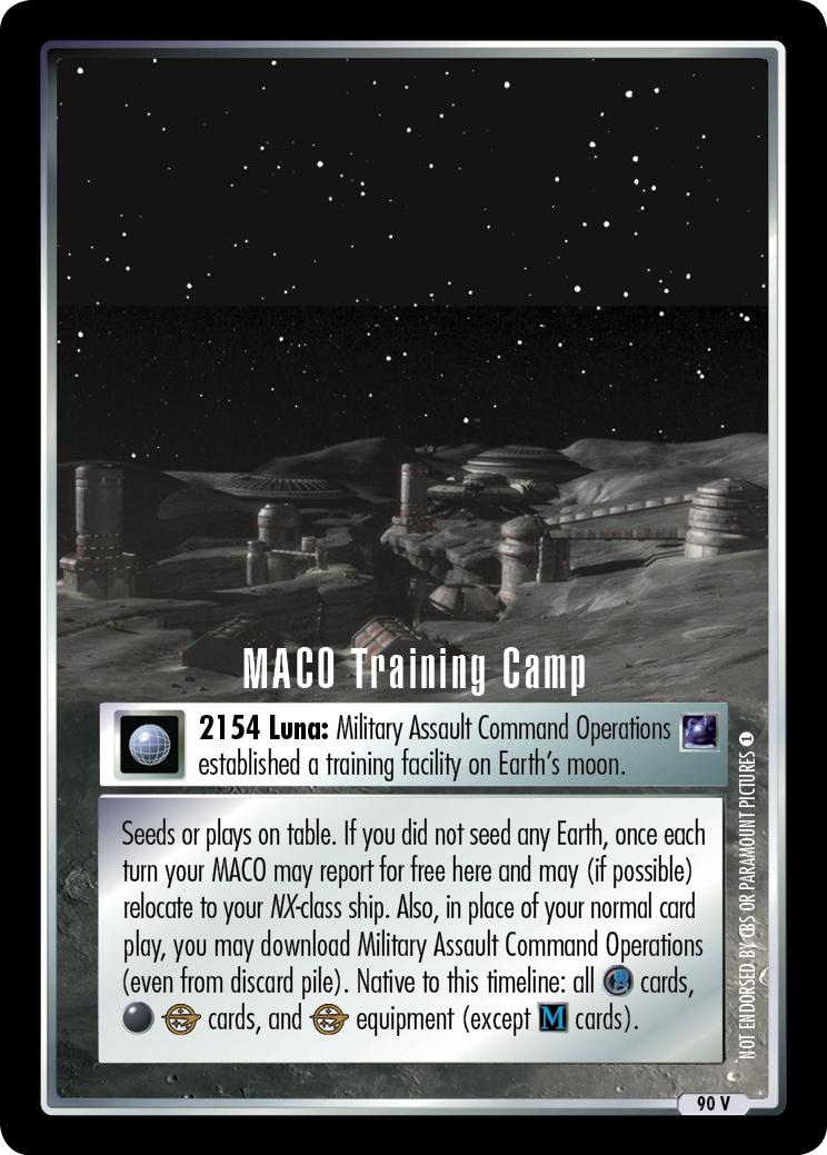 MACO Training Camp