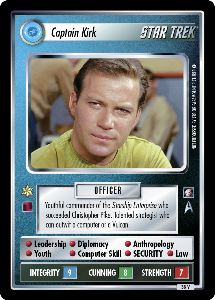 Captain Kirk (The Cage)