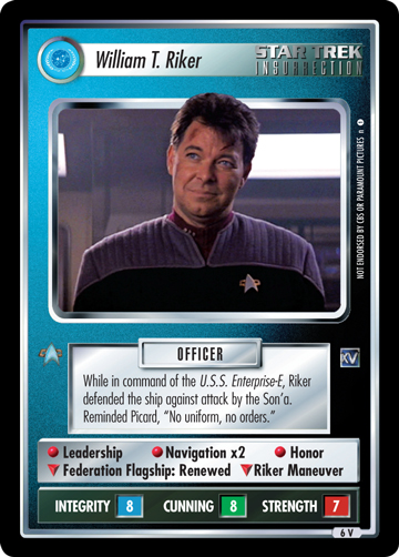 William T. Riker (Chain of Command)