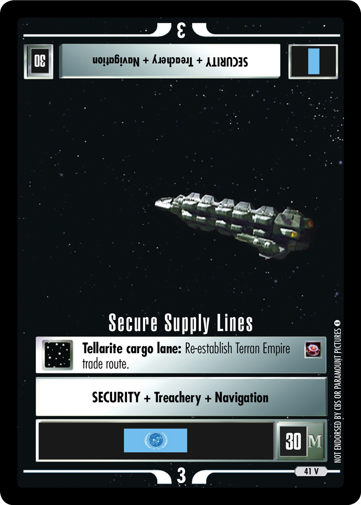 Secure Supply Lines