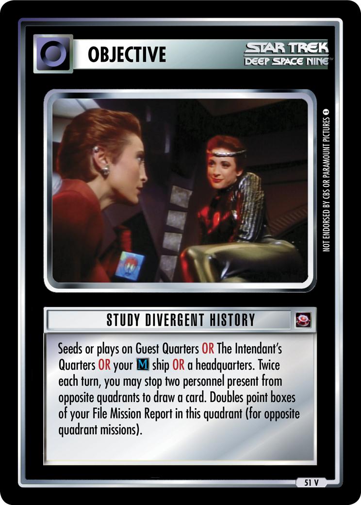 Study Divergent History