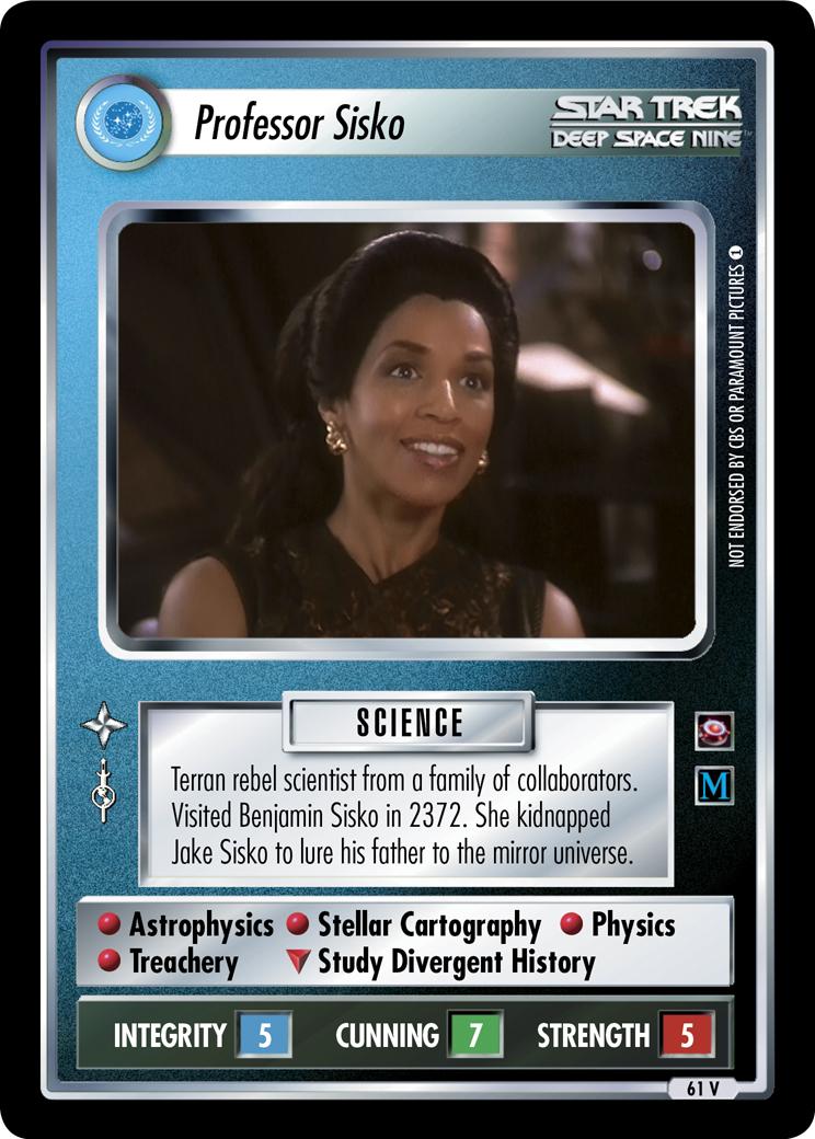 Professor Sisko