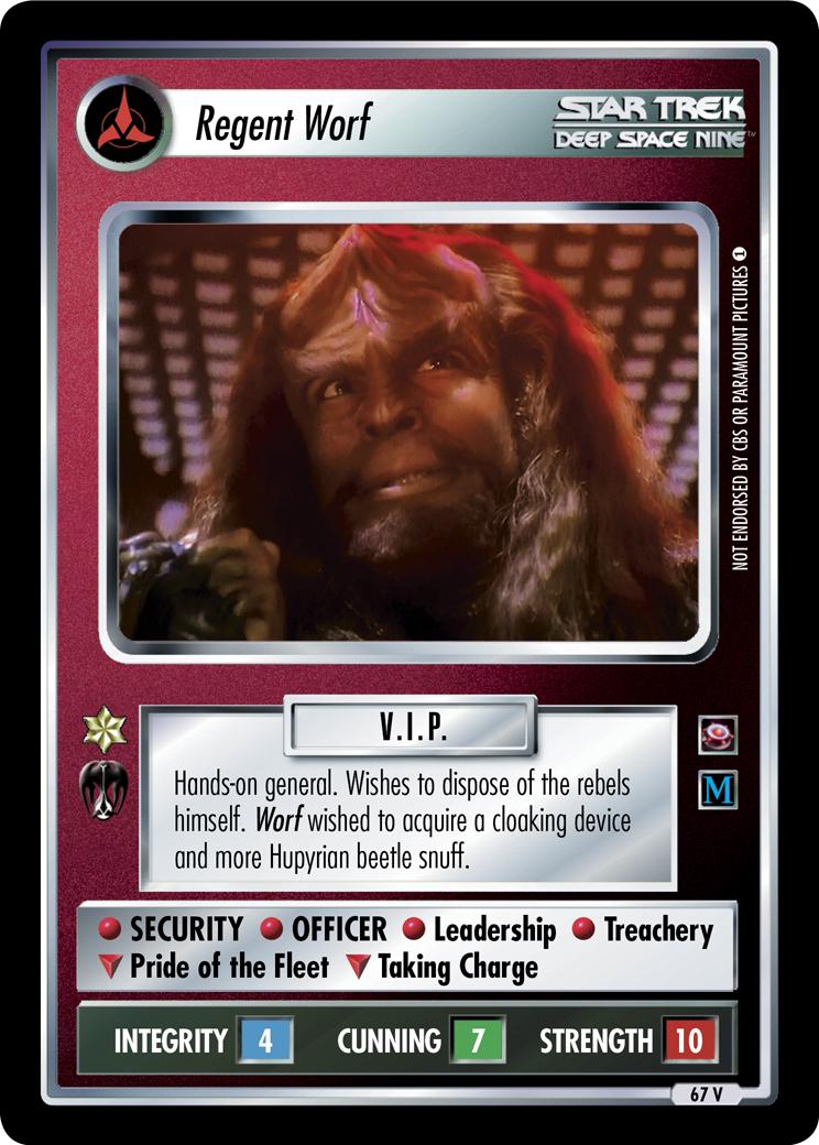 Regent Worf (Crossover)