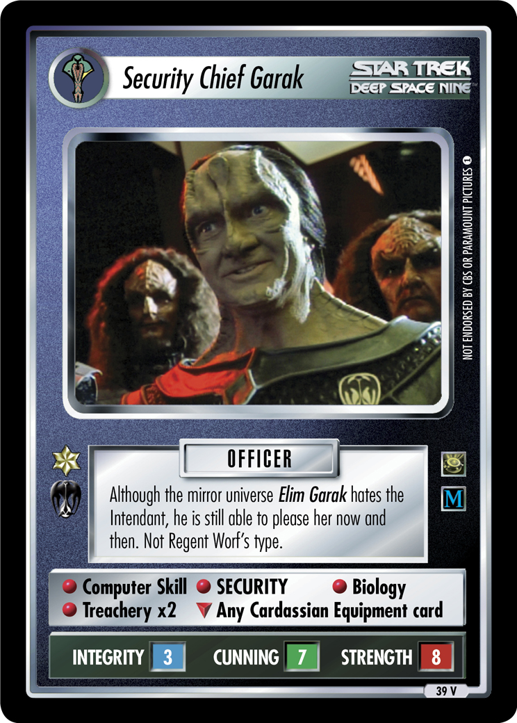 Security Chief Garak