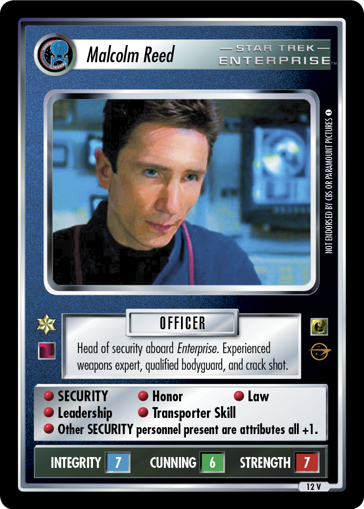 Malcolm Reed (Enterprise Collection)