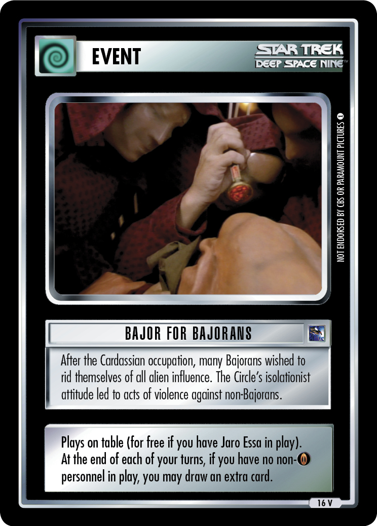 Bajor for Bajorans