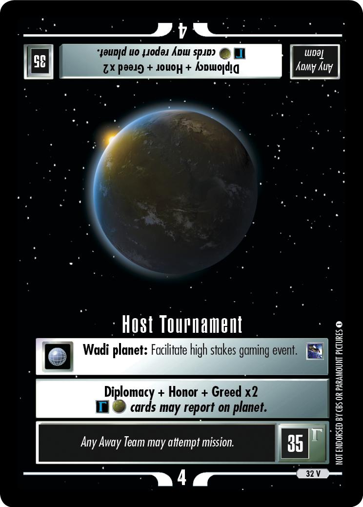 Host Tournament