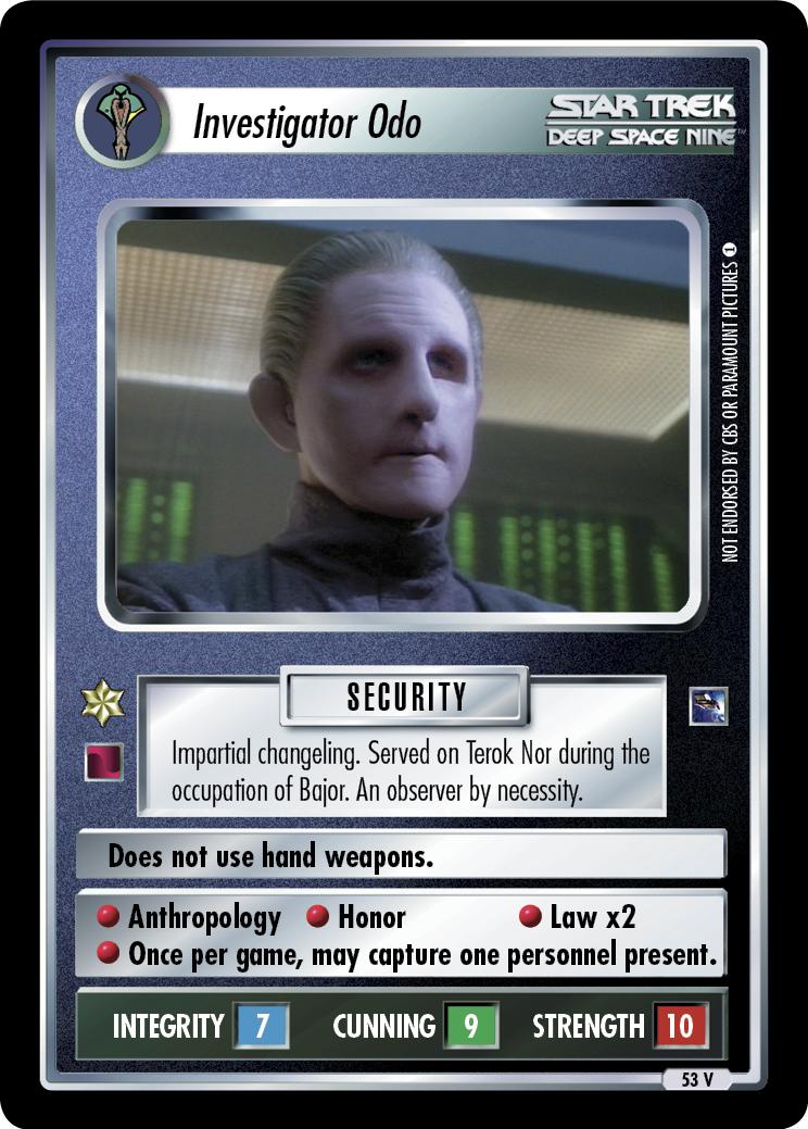 Investigator Odo
