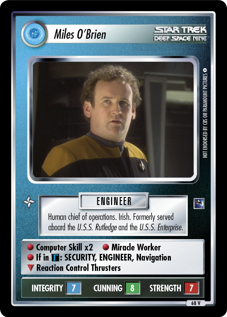 Miles O'Brien (Emissary)
