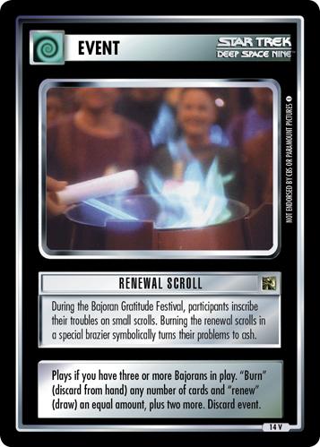 Renewal Scroll