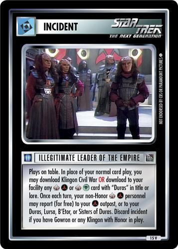 Illegitimate Leader of the Empire