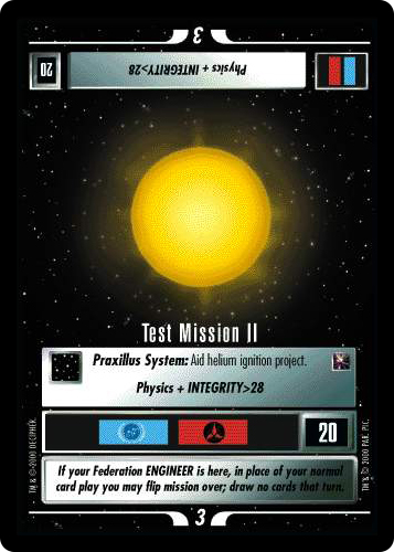 Test Mission II
