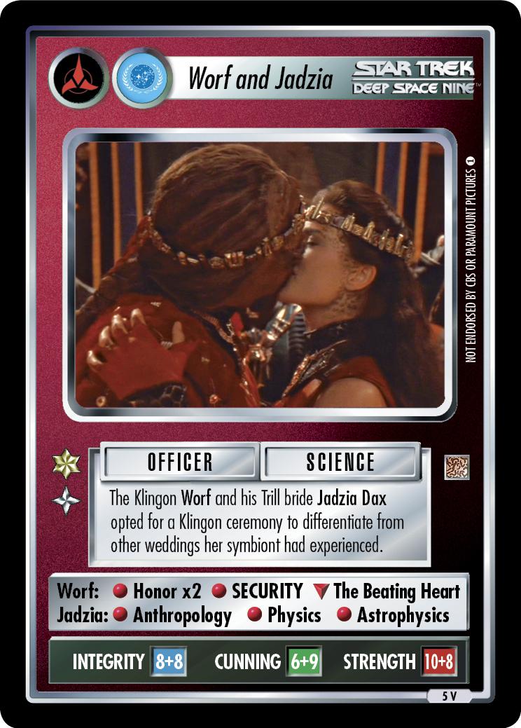 Worf and Jadzia