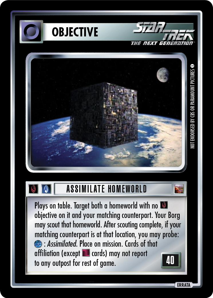 Assimilate Homeworld