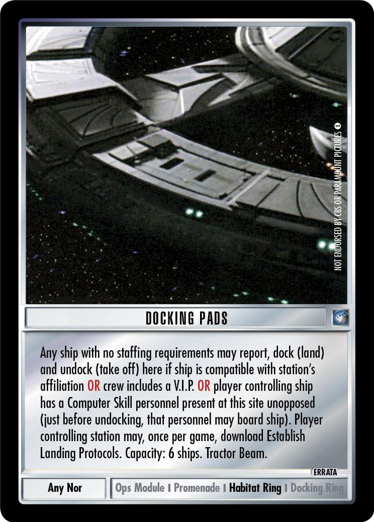 Docking Pads