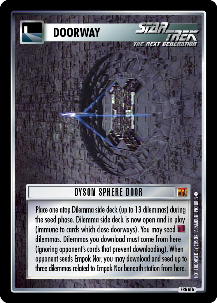 Dyson Sphere Door
