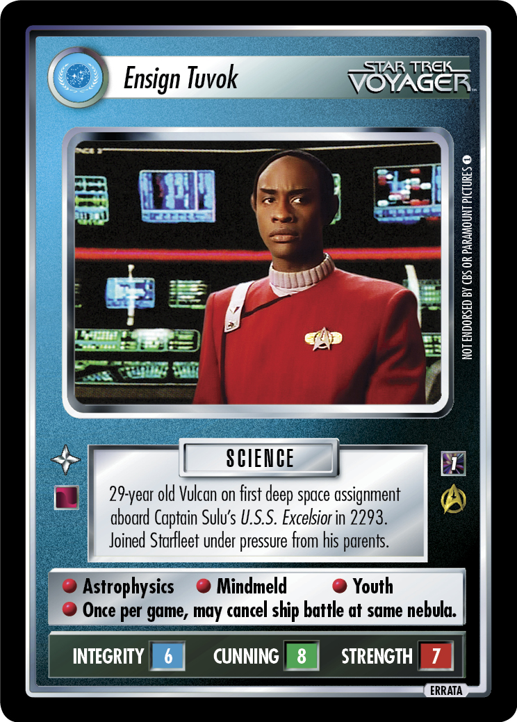 Ensign Tuvok