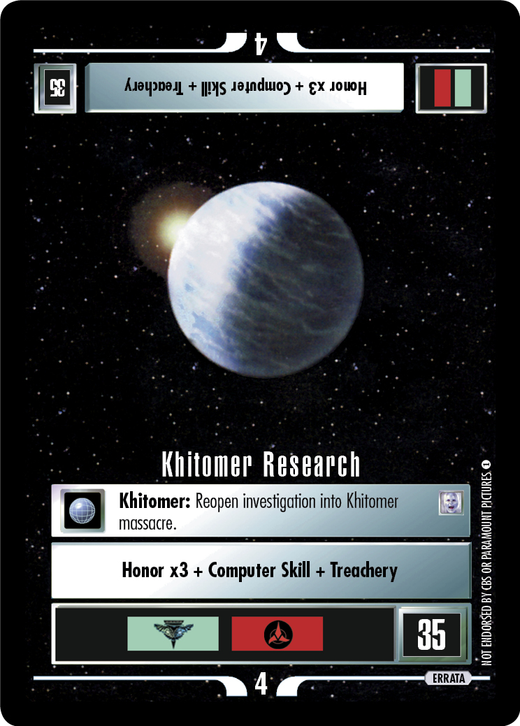 Khitomer Research