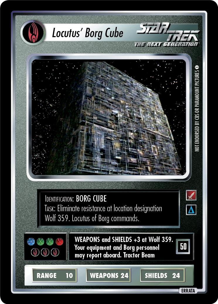 Locutus Borg Cube