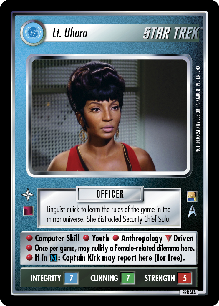 Lt. Uhura (Through the Looking Glass)