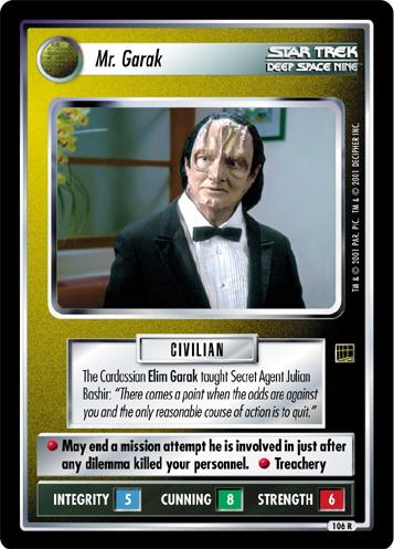 Mr. Garak