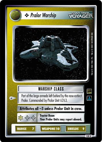 Pralor Warship