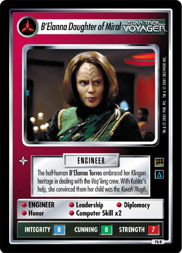 B'Elanna Daughter of Miral