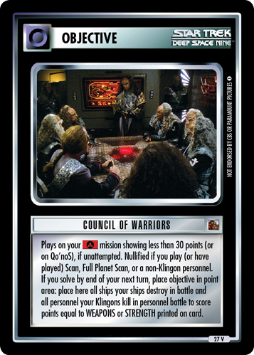 Council of Warriors