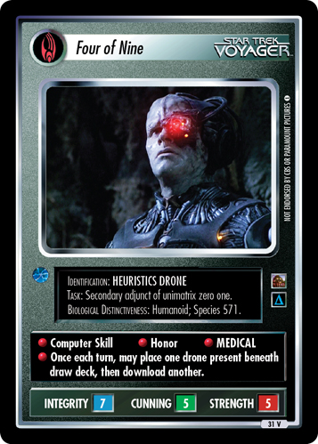 Becoming One With the Borg: Three of Nine