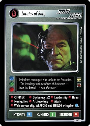 Locutus of Borg (Homefront III)