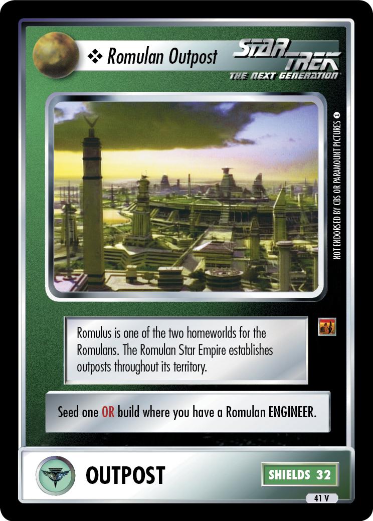 Romulan Outpost