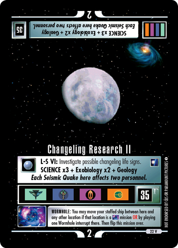 Changeling Research II