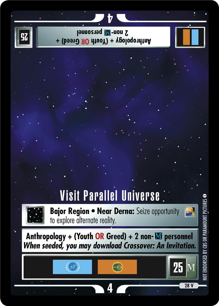 Visit Parallel Universe