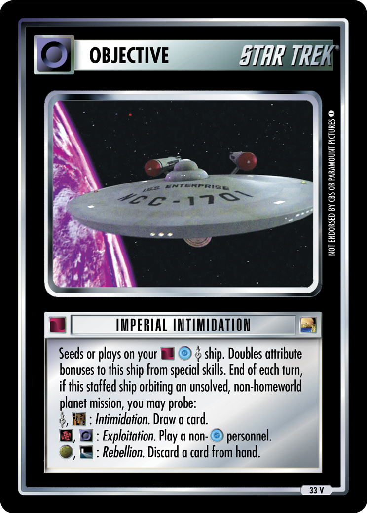 Imperial Intimidation
