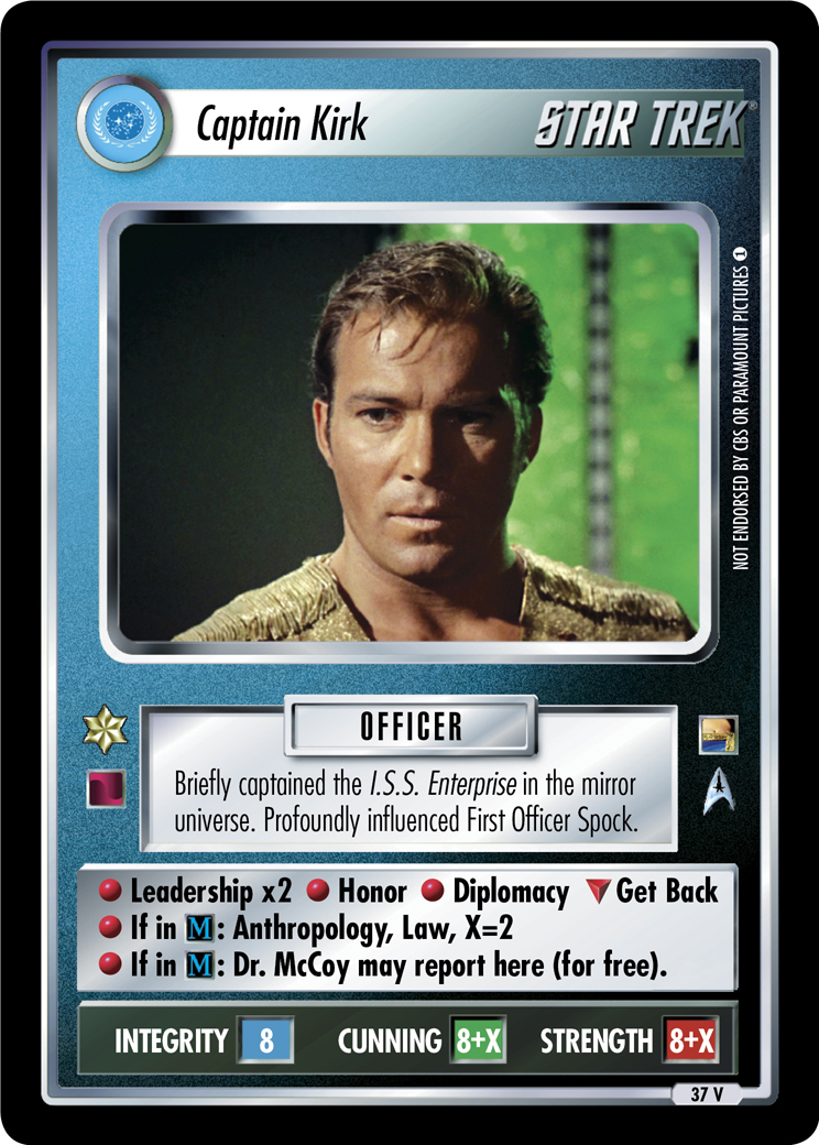 Captain Kirk (Through the Looking Glass)