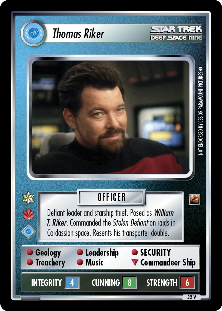 Thomas Riker (The Maquis)