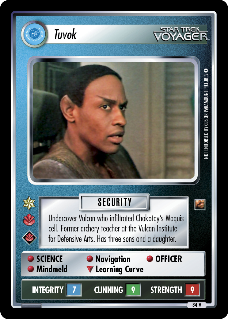 Tuvok (The Maquis)
