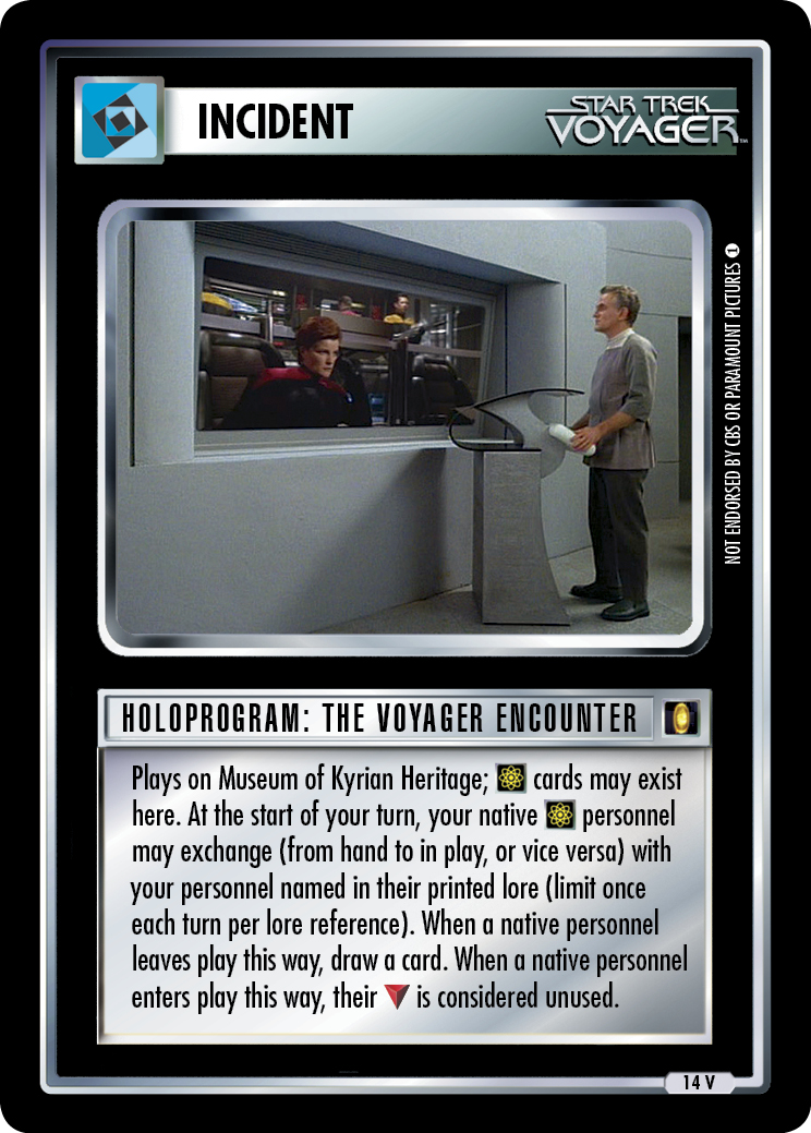 Holoprogram: The Voyager Encounter