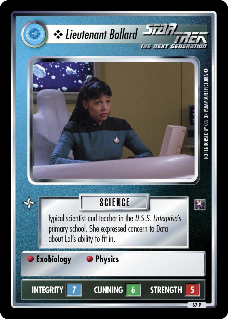 Lieutenant Ballard