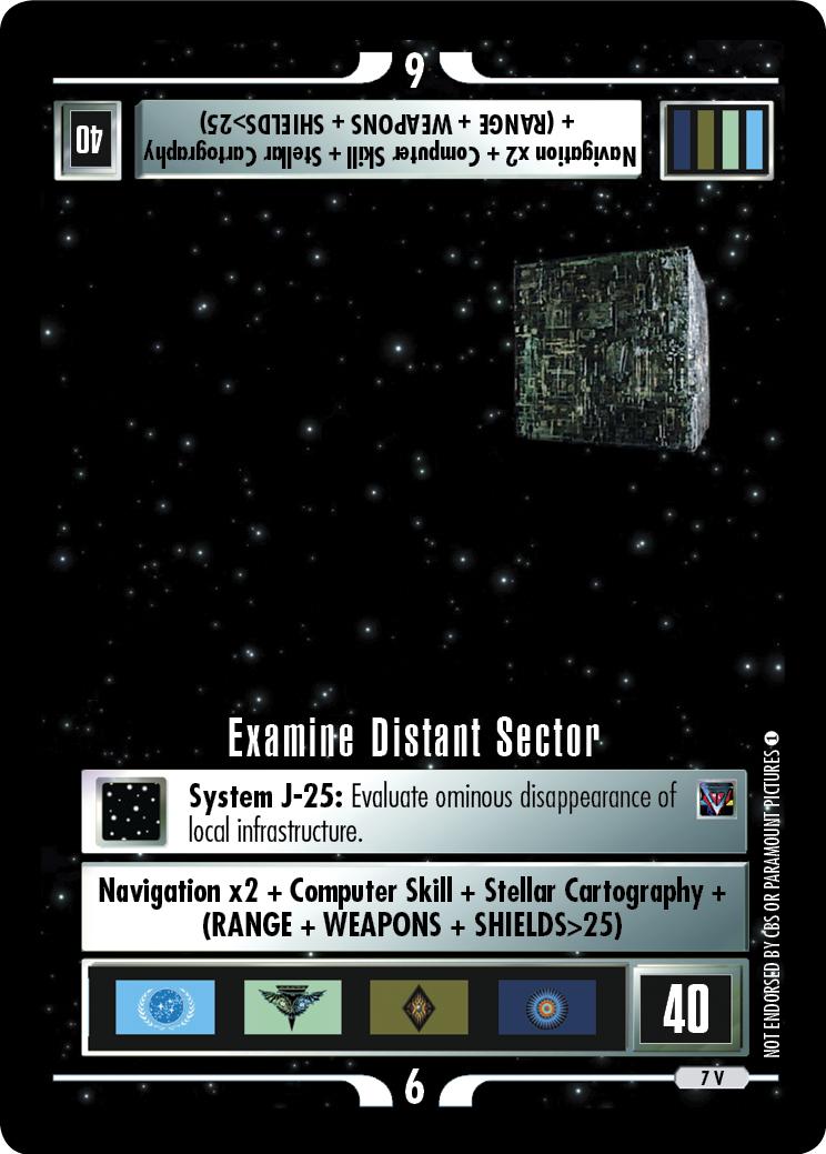 Examine Distant Sector