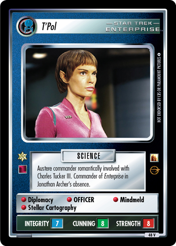 T'Pol (Straight and Steady)