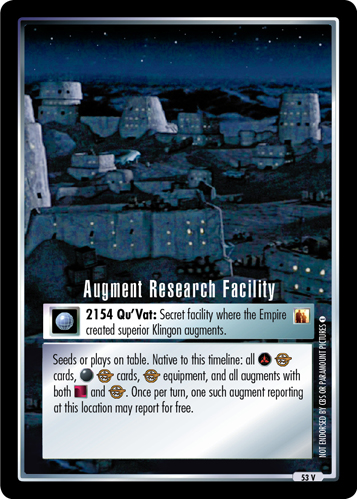 Augment Research Facility