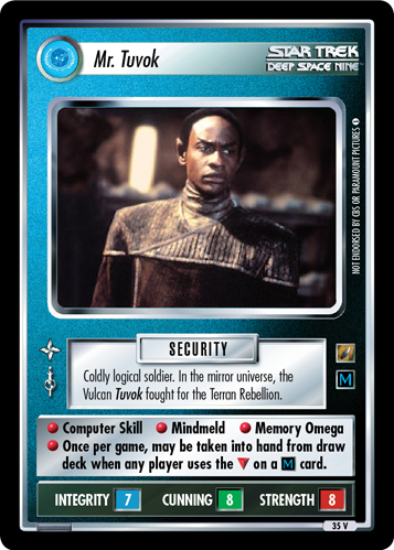 Mr. Tuvok (Shades of Gray)
