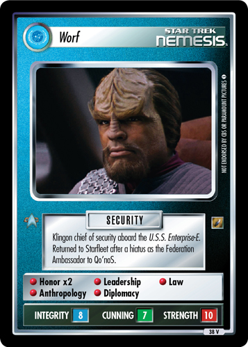 Worf (Shades of Gray)