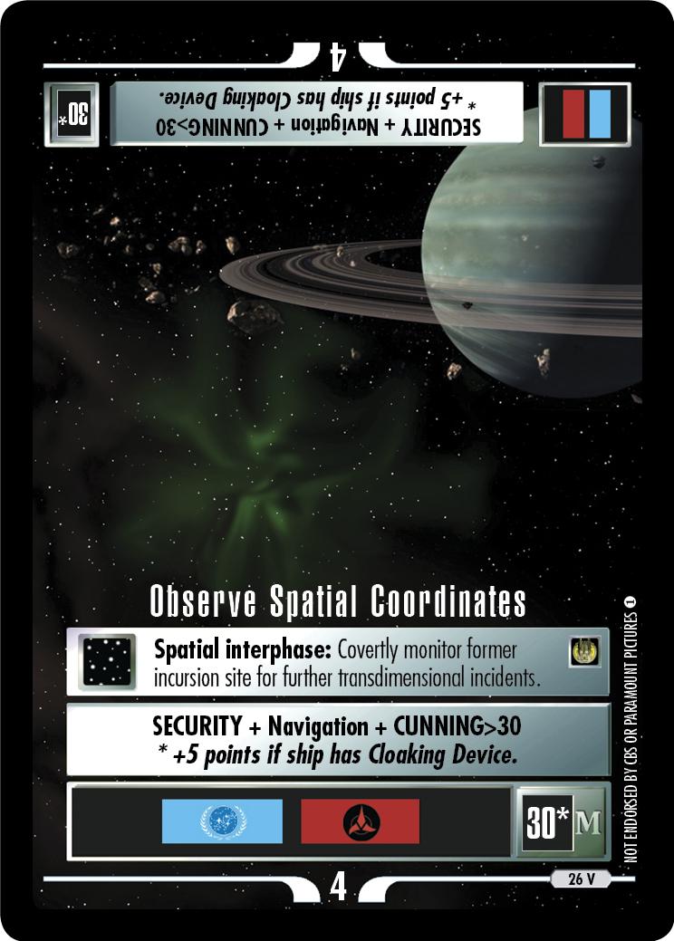 Observe Spatial Coordinates